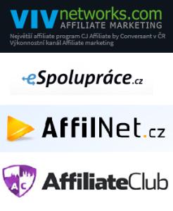 Porovnání affiliate sítě v česku