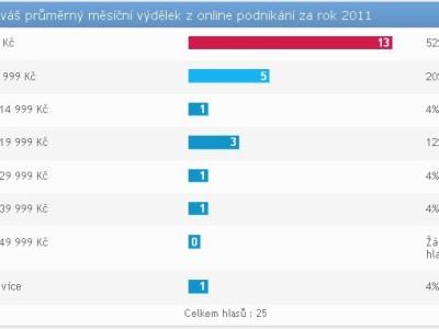Vím kolik je průměrný měsíční výdělek z online podnikání