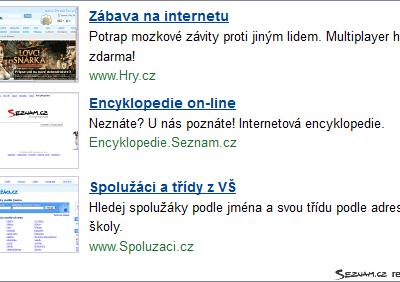 Jaké výsledky má nová grafická podoba reklamy Sklik.cz?